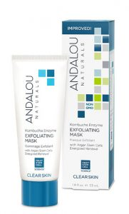 Andalou Naturals Clear Skin Kombucha Enzyme Exfoliating Mask -- 1.8 fl oz   Comprar Suplemento em Promoção Site Barato e Bom