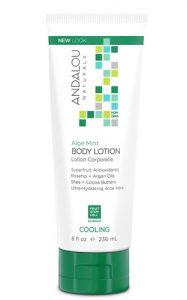 Andalou Naturals Cooling Body Lotion Aloe Mint -- 8 fl oz   Comprar Suplemento em Promoção Site Barato e Bom