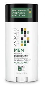 Andalou Naturals MEN Botanical Deodorant Highland Pine -- 2.65 oz   Comprar Suplemento em Promoção Site Barato e Bom