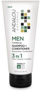 Andalou Naturals MEN Fortifying Shampoo plus Conditioner 3 in 1 -- 8.5 fl oz   Comprar Suplemento em Promoção Site Barato e Bom