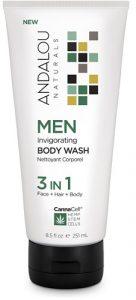 Andalou Naturals MEN Invigorating Body Wash 3 In 1 -- 8.5 fl oz   Comprar Suplemento em Promoção Site Barato e Bom