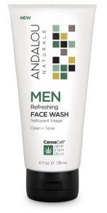 Andalou Naturals MEN Refresheing Face Wash -- 6 fl oz   Comprar Suplemento em Promoção Site Barato e Bom