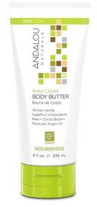 Andalou Naturals Nourishing Body Butter Kukui Cocoa -- 8 fl oz   Comprar Suplemento em Promoção Site Barato e Bom