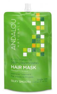 Andalou Naturals Silky Smooth Exotic Marula Oil Deep Conditioning Hair Mask -- 1.5 fl oz   Comprar Suplemento em Promoção Site Barato e Bom