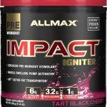 Impact Igniter Pre Workout By Allmax Nutrition, Tart Black Cherry 328 Grams   Comprar Suplemento em Promoção Site Barato e Bom