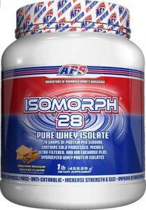 Isomorph 28 Protein By APS Nutrition, Cinnamon Graham Cracker, 1lb   Comprar Suplemento em Promoção Site Barato e Bom