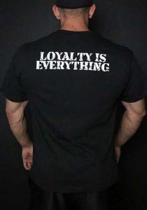 Blackstone Labs Shirt, Loyalty Is Everything   Comprar Suplemento em Promoção Site Barato e Bom