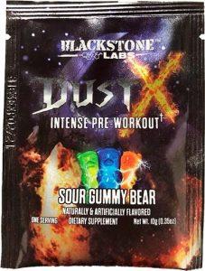 Dust X Pre Workout By Blackstone Labs, Sour Gummy Bear, Sample Packet   Comprar Suplemento em Promoção Site Barato e Bom
