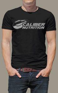 Caliber Nutrition T-Shirt, Large   Comprar Suplemento em Promoção Site Barato e Bom