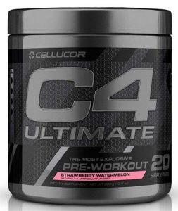 C4 Ultimate By Cellucor, Strawberry Watermelon, 20 Servings   Comprar Suplemento em Promoção Site Barato e Bom