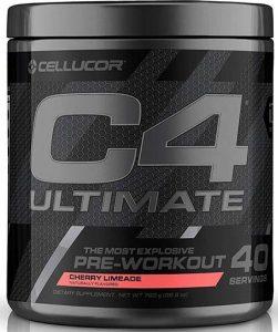 C4 Ultimate By Cellucor, Cherry Limeade, 40 Servings   Comprar Suplemento em Promoção Site Barato e Bom