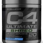 C4 Ultimate Shred By Cellucor, Icy Blue Razz, 20 Servings   Comprar Suplemento em Promoção Site Barato e Bom