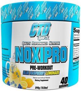 Noxipro By CTD Sports, Blue Raspberry Lemonade, 40 Servings   Comprar Suplemento em Promoção Site Barato e Bom