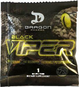 Black Viper Fat Burner By Dragon Pharma, Sample Packet   Comprar Suplemento em Promoção Site Barato e Bom