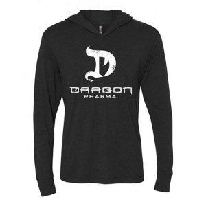 Dragon Pharma Hoodie, Gray, Medium   Comprar Suplemento em Promoção Site Barato e Bom