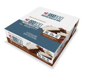 Dymatize Iso 100 Bars, Frosted Brownie, 12/Box   Comprar Suplemento em Promoção Site Barato e Bom