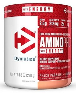 Dymatize Amino Pro Energy, Peach Paradise, 30 Servings   Comprar Suplemento em Promoção Site Barato e Bom