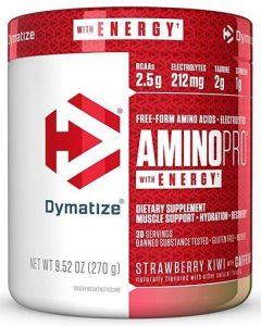 Dymatize Amino Pro Energy, Strawberry Kiwi, 30 Servings   Comprar Suplemento em Promoção Site Barato e Bom