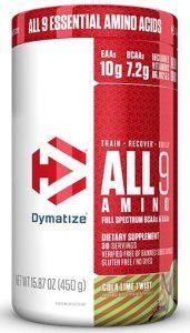 All 9 Amino By Dymatize, Cola Lime Twist, 30 Servings   Comprar Suplemento em Promoção Site Barato e Bom