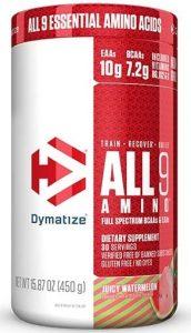 All 9 Amino By Dymatize, Juicy Watermelon, 30 Servings   Comprar Suplemento em Promoção Site Barato e Bom