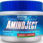AminoJect By Evogen, Cherry Limeade, 30 Servings   Comprar Suplemento em Promoção Site Barato e Bom