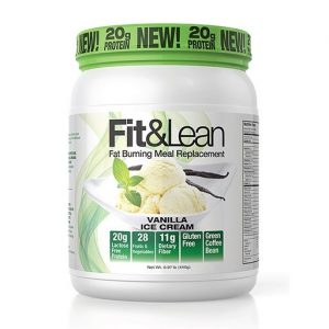 Fit and Lean Meal Replacement, Vanilla, 1LB   Comprar Suplemento em Promoção Site Barato e Bom