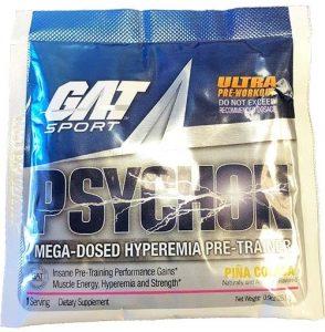 Psychon Pre Workout By GAT Sport, Pina Colada, Single Packet   Comprar Suplemento em Promoção Site Barato e Bom