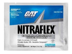 Nitraflex By GAT, Blue Raspberry, Single Packet   Comprar Suplemento em Promoção Site Barato e Bom