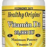 Healthy Origins Vitamin D3, 10,000 IU, 360 Softgels   Comprar Suplemento em Promoção Site Barato e Bom