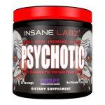 PSYCHOTIC Pre Workout by Insane Labz, Grape, 35 Servings   Comprar Suplemento em Promoção Site Barato e Bom