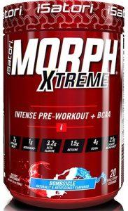 Morph Xtreme Pre Workout By Isatori, Bombsicle, 20 Servings   Comprar Suplemento em Promoção Site Barato e Bom