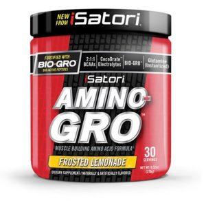 Amino Gro By Isatori, Frosted Lemonade, 30 Servings   Comprar Suplemento em Promoção Site Barato e Bom