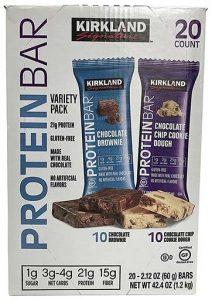 Kirkland Protein Bars, Variety Pack, 20 Count   Comprar Suplemento em Promoção Site Barato e Bom