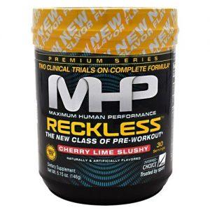 MHP Reckless Pre Workout, Cherry Lime Slushy, 30 Servings   Comprar Suplemento em Promoção Site Barato e Bom