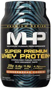 Super Premium Whey Protein By MHP, Gingerbread, 25 Servings   Comprar Suplemento em Promoção Site Barato e Bom