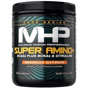 MHP Super Amino Plus, Mango Citrus, 30 Servings   Comprar Suplemento em Promoção Site Barato e Bom