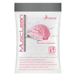 MuscLean By Metabolic Nutrition, Strawberry Milkshake, Sample Packet   Comprar Suplemento em Promoção Site Barato e Bom