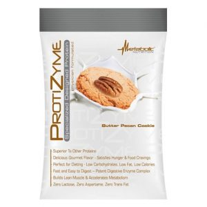 Protizyme Protein By Metabolic Nutrition, Butter Pecan Cookie, Sample Packet   Comprar Suplemento em Promoção Site Barato e Bom