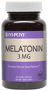 MRM Melatonin, 3 MG, 60 Veg Caps   Comprar Suplemento em Promoção Site Barato e Bom