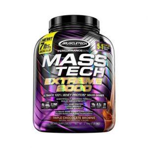 Mass Tech Extreme 2000 By MuscleTech, Triple Chocolate Brownie, 7lb   Comprar Suplemento em Promoção Site Barato e Bom