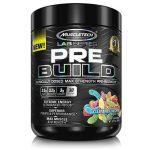 MuscleTech Pre Build Pre Workout, Gummy Worm, 30 Servings   Comprar Suplemento em Promoção Site Barato e Bom