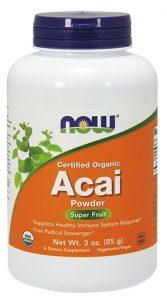 NOW Acai Powder, 3 oz   Comprar Suplemento em Promoção Site Barato e Bom