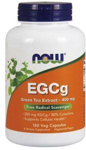 EGCg Green Tea Extract By NOW, 400 mg 180 Veg Caps   Comprar Suplemento em Promoção Site Barato e Bom