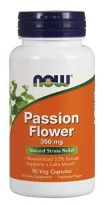 NOW Passion Flower, 350 mg, 90 Veg Caps   Comprar Suplemento em Promoção Site Barato e Bom