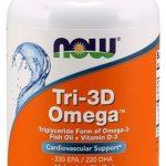 Tri 3D Omega By NOW, 90 Softgels   Comprar Suplemento em Promoção Site Barato e Bom