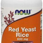 Red Yeast Rice By NOW, 600 mg, 120 Veg Caps   Comprar Suplemento em Promoção Site Barato e Bom