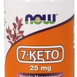 NOW 7 Keto, 25 mg, 90 Veg Caps   Comprar Suplemento em Promoção Site Barato e Bom