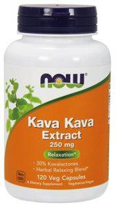 NOW Kava Kava, 250 mg, 120 Veg Caps   Comprar Suplemento em Promoção Site Barato e Bom