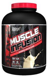 Muscle Infusion By Nutrex, Vanilla, 5LB   Comprar Suplemento em Promoção Site Barato e Bom
