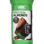 Protein Almonds By Optimum Nutrition, Chocolate Jalapeno, Single Packet   Comprar Suplemento em Promoção Site Barato e Bom